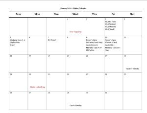 January Listing Calendar1