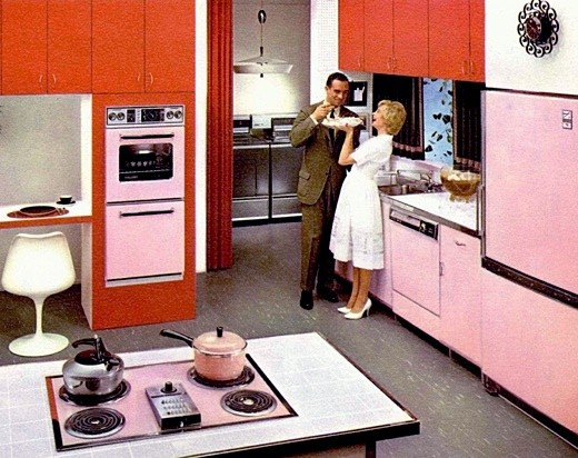 kitchen pink los angeles real estate