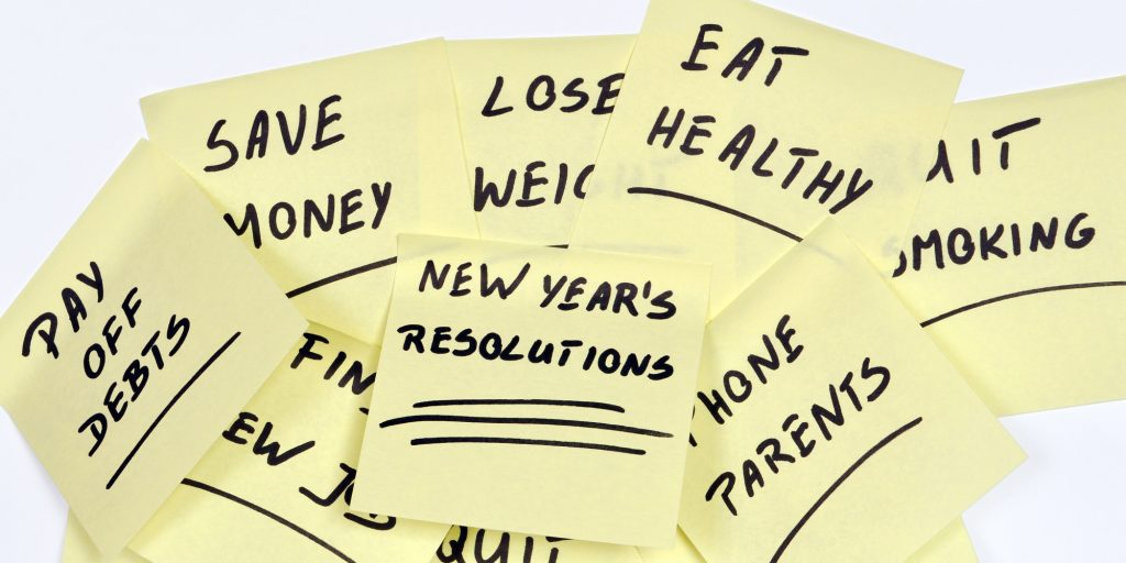 top new years resolutions Harb and Co. real estate listings