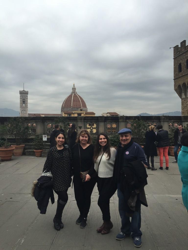 Harb family in Italy